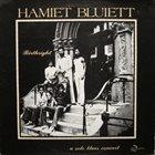 HAMIET BLUIETT Birthright: A Solo Blues Concert album cover