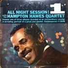 HAMPTON HAWES All Night Session!, Volume 1 album cover
