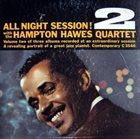 HAMPTON HAWES All Night Session!, Volume 2 album cover