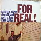 HAMPTON HAWES For Real! album cover