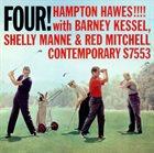 HAMPTON HAWES Four! Hampton Hawes!!!! album cover