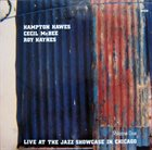 HAMPTON HAWES Live At The Jazz Showcase In Chicago Vol. 1 album cover