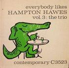 HAMPTON HAWES The Trio Vol.3: The Trio album cover
