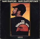 HANK CRAWFORD Hank Crawford's Back album cover