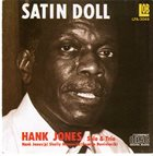 HANK JONES Hank Jones Solo And Trio : Satin Doll album cover