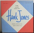 HANK JONES The Jazz Trio of Hank Jones album cover
