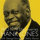 HANK JONES Trio 1979 Discoveries album cover