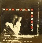 HANK MOBLEY Hank Mobley Quartet album cover