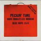 HANK MOBLEY Peckin' Time album cover