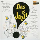 HANS KOLLER (SAXOPHONE) Das Is Jazz album cover