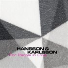 HANSSON & KARLSSON For People In Love album cover