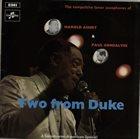 HAROLD ASHBY Harold Ashby & Paul Gonsalves : Two From Duke album cover