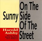 HAROLD ASHBY On The Sunny Side Of The Street album cover