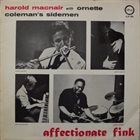 HAROLD MCNAIR Harold McNair With Ornette Coleman's Sidemen : Affectionate Fink album cover