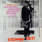 HAROLD VICK (SIR EDWARD) Steppin' Out album cover