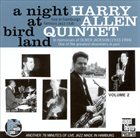 HARRY ALLEN A Night at Birdland, Vol. 2 album cover