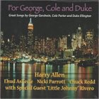 HARRY ALLEN For George, Cole And Duke album cover