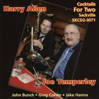 HARRY ALLEN Joe Temperley & Harry Allen : Cocktails for Two album cover