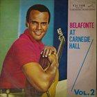 HARRY BELAFONTE Belafonte At Carnegie Hall, Vol.2 album cover