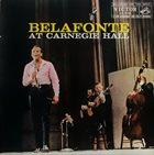 HARRY BELAFONTE Belafonte At Carnegie Hall album cover