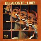 HARRY BELAFONTE Belafonte ...Live! album cover