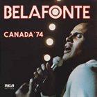 HARRY BELAFONTE Canada /74 album cover
