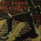 HARRY BELAFONTE Harry Belafonte / The Bob Jones Singers : Songs Of The Land - Harry Belafonte Sings Five Early Songs album cover