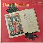 HARRY BELAFONTE To Wish You A Merry Christmas album cover
