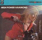 HARRY STONEHAM High Power Hammond album cover