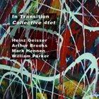 HEINZ GEISSER Collective 4tet : In Transition album cover