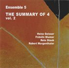 HEINZ GEISSER The Summary Of 4 Vol. 2 album cover