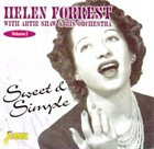 HELEN FORREST Sweet and Simple album cover