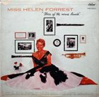 HELEN FORREST Voice Of The Name Bands album cover
