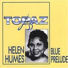 HELEN HUMES Blues Prelude album cover