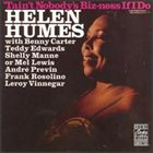 HELEN HUMES Tain't Nobody's Biz-Ness If I Do album cover