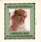 HELEN MERRILL American Country Songs album cover