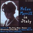HELEN MERRILL Helen Merrill in Italy album cover