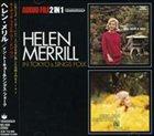 HELEN MERRILL In Tokyo (1963) & Sings Folk (1963) album cover