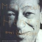 HENRY SALVADOR Monsieur Henri album cover