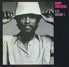 HENRY THREADGILL X-75, Volume 1 album cover