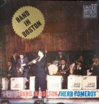 HERB POMEROY Band In Boston album cover