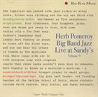 HERB POMEROY Live At Sandy's (Volume 9) album cover
