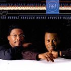 HERBIE HANCOCK 1+1 (feat. Wayne Shorter) album cover
