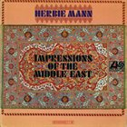 HERBIE MANN Impressions of the Middle East album cover
