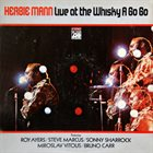 HERBIE MANN Live at the Whisky a Go Go album cover