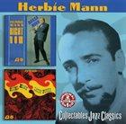 HERBIE MANN Right Now & Latin Fever album cover