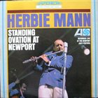 HERBIE MANN Standing Ovation At Newport album cover