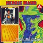 HERBIE MANN Super Mann + Yellow Fever album cover