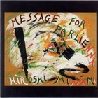 HIROSHI MINAMI Message for Parlienna album cover