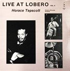 HORACE TAPSCOTT Live At Lobero Vol. II album cover